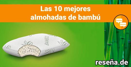 Las 10 mejores almohadas de bambú