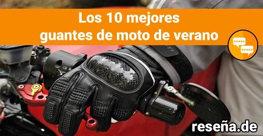 Los 10 mejores guantes de moto de verano
