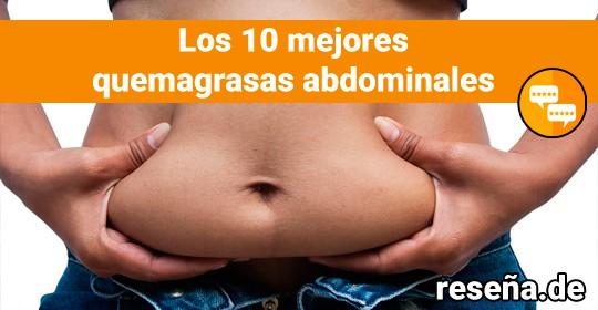 Los 10 mejores quemagrasas abdominal