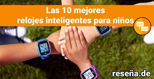 Los 10 mejores relojes inteligentes para niños