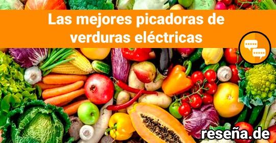 Las mejores picadoras de verduras eléctricas