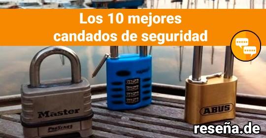 Los 10 mejores candados de seguridad