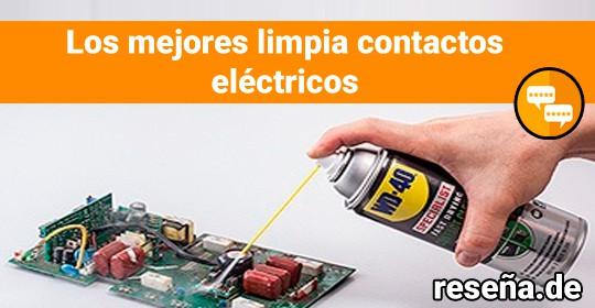 Los mejores limpia contactos eléctricos
